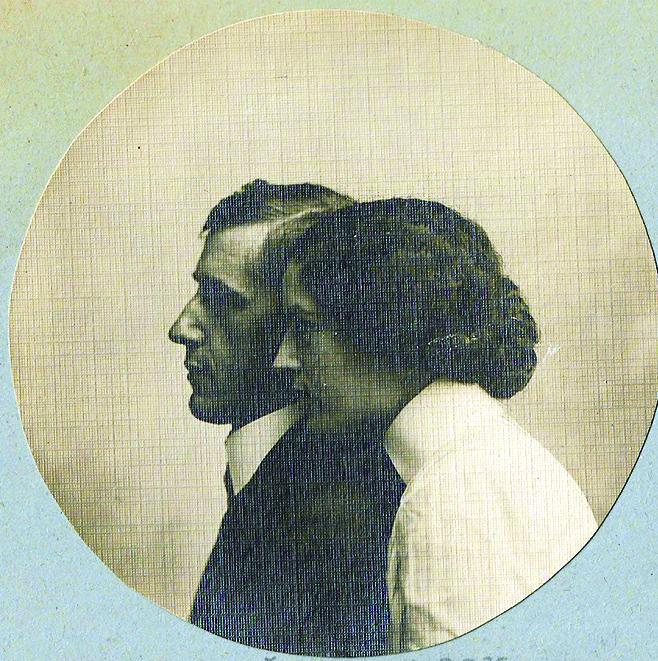 Branko Šenoa i Nasta Rojc 1909.