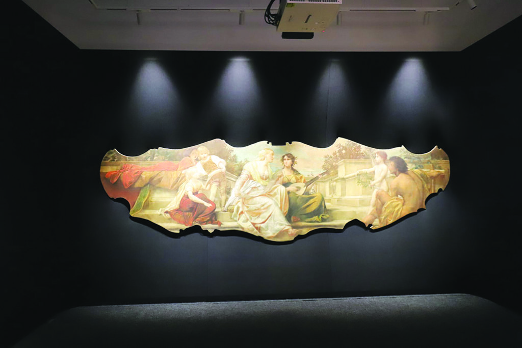Slika Ernsta Klimta za proscenij kazališta u Rijeci